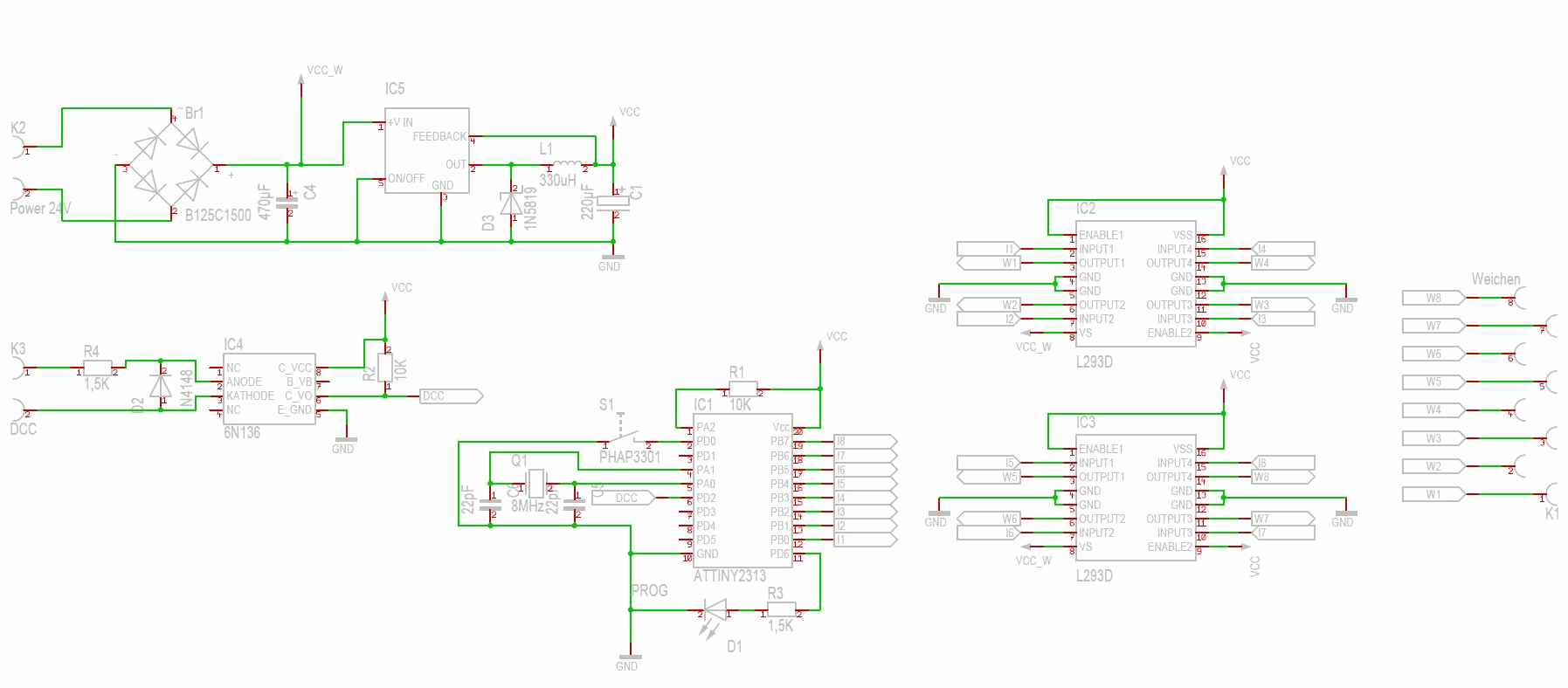 dcc decoder wiring diagrams dcc wiring for switch machines